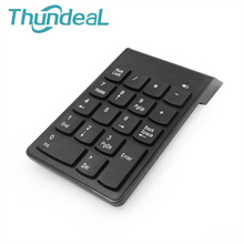 18Key USB Wireless 2.4Ghz Numeric Keypad Portable Number Keyboard Ultra For Windows Desktop Notebook Android Tablet Phone