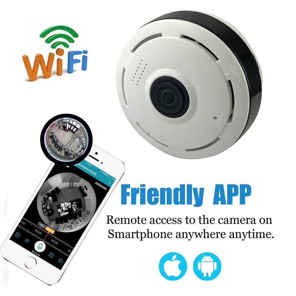 CCTV 1.3MP 960P IP Camera Panoramic 360 Degree Indoor Wireless WiFi Surveillance Security Network Camera 2-way Audio<br>