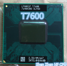 Intel Core Duo T7600 t7600 CPU 4M Cache/2.33GHz/667MHz FSB Scoket 478,Dual-Core Laptop processor for 945 chipset(China)