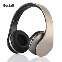Bestall 4 in 1 Bluetooth Stero Wireless/Wired Headphone with FM/MP3 for Computer Phone TV