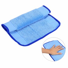 1PCS/Pack 100% Polyester Blue Soft Microfiber Mopping Cloth for Robot Home Room Floor Cleaning Floor Mopping Cloth 18 x 29cm(China)