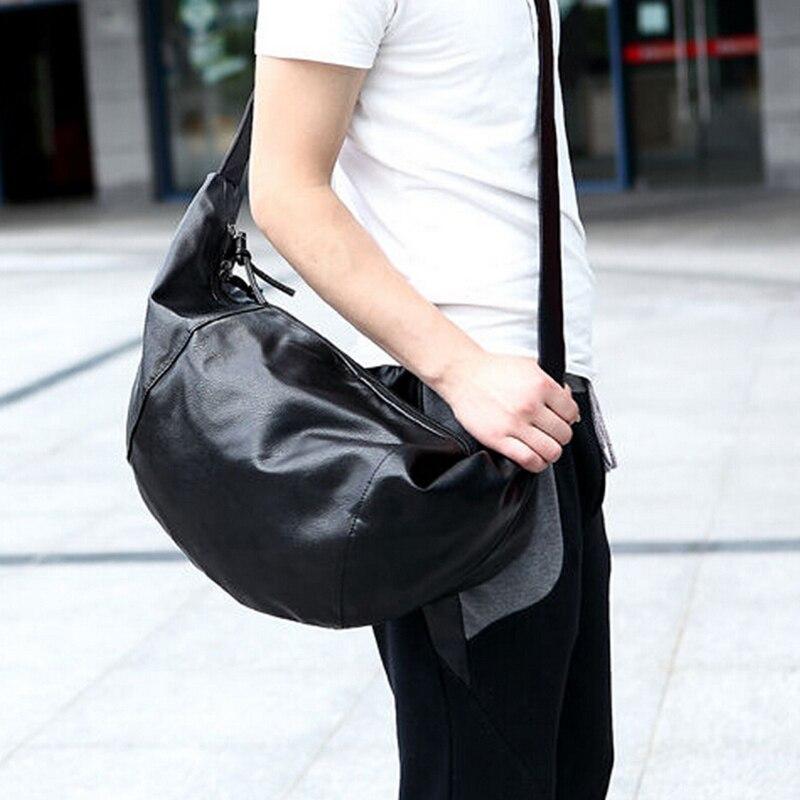 2016 Character Men Messenger Bag Fashion Mens Shoulder Bags Waterproof  Premium Travel Men Bags Unique Design Hobos Bag Black<br><br>Aliexpress