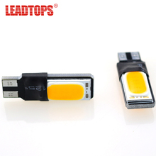 20psc/lot High Power t10 w5w/194  Led cob car Light t10 5w5 12v t 10 White Car Clearance Light for Mazda Kia Chevrolet Ford EJ