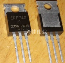 50PCS IRF740PBF IRF740 N-Channel Power Mosfet 400V 10A TO-220