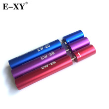 E-XY 10pcs Wire Coiling Tool CW-20  CW-25  CW-30 Silica Wick Pre-made Welded Wires - NR-R-NR Vaping Coil Winding Jig Tool