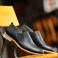 2017 New Arrival Men's Chelsea Boots British Style Fashion Ankle Boots Men Casual Shoes Luxury Brand Work Boots Low Cut Boots