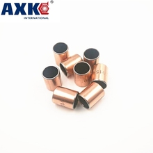 Buy Axk 50pcs Sf-1 0404 Self Lubricating Composite Bearing Bushing Sleeve Free Shipping Sf1 4x6x4 Mm