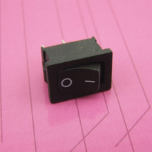 Common Used Black Rocker Switch Electric Power Water Dispenser Switch Lamp Switches DIY Accessories(China)