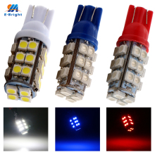 YM E-Bright 100X T10 28 SMD Car High Power 168 194 W5W 3528 1210 28 SMD Wedge Light Signal Bulbs White Blue Red US Shipping(China)