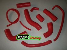 YZF R6 06 2006 RED HIGH performance silicone Radiator Hose Kit  silicone hose