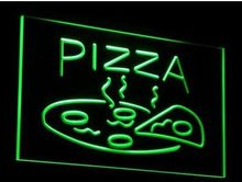 OPEN Hot Pizza Cafe Restaurant NEW carving signs Bar LED Neon Sign