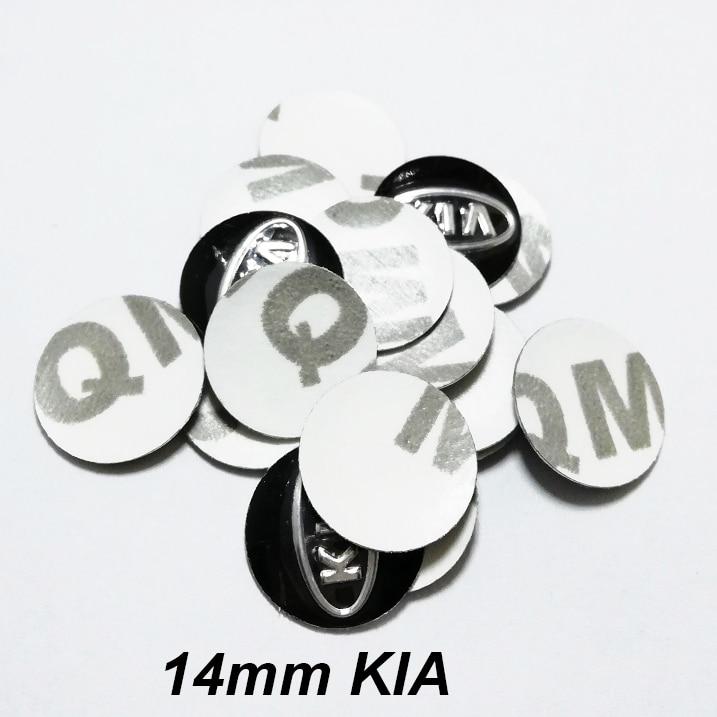 4 X 14mm BMW Llavero insignia de la etiqueta Engomada de reemplazo