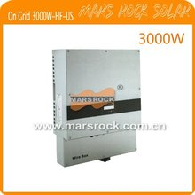 3000w solar inverter for US, on grid, with 1 MPPT, high frequency transformer, waterproof IP65