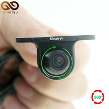 360 Degree Rotation HD CCD Parking Assistance Camera Front / Side / Rear View Camera for Car DVD Monitor