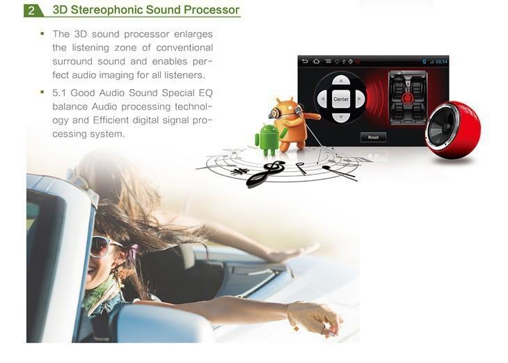 Car dvd GPS Navigation player 6