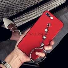 Painting 3 star Hand Ring Bling crystal diamond Soft Thin soft Tpu phone Case Cover For OPPO R9 R9S PLUS A33T A37 A57 A59 S Case