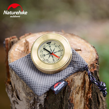 Naturehike Mini Military Camping Compass Marching Lensatic Magnifier Wild Survival Navigation Noctilucent Compass