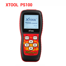 100% Original XTOOL OBDII Can Scanner PS100 EOBDII/CAN OBDII Scanner PS 100 Free Shipping