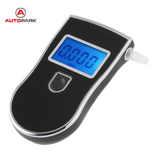 professional Breathalyzer Portable Alcohol Tester Digital Breath Alcohol Meter Parking Car Detector Gadgets(China)