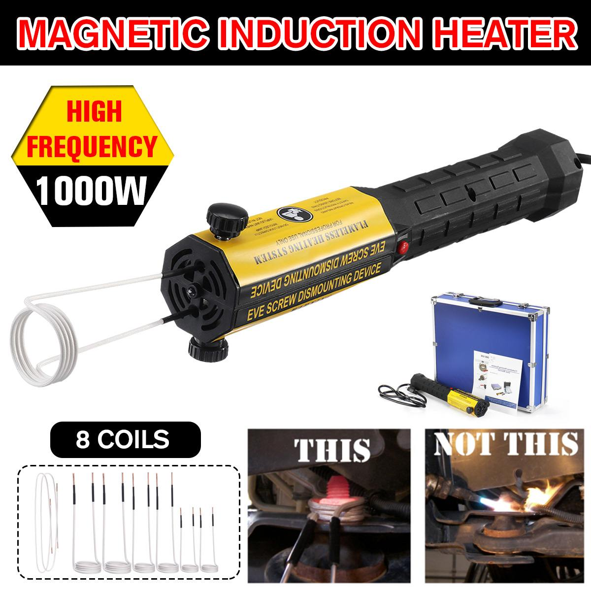 1000W 110V US Ductor Magnetic Induction Heater Automotive Flameless Heat Remover