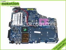 NOKOTION K000053930 ISKAA LA-3481P Laptop motherboard For toshiba Satellite A200 A205 GM965 DDR2 Mainboard Full Tested(China)
