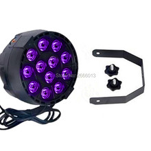 Niugul LED Par light 12x3W LED Par Can Par led spotlight dj projector wash lighting stage lights pruple LED with Free shipping