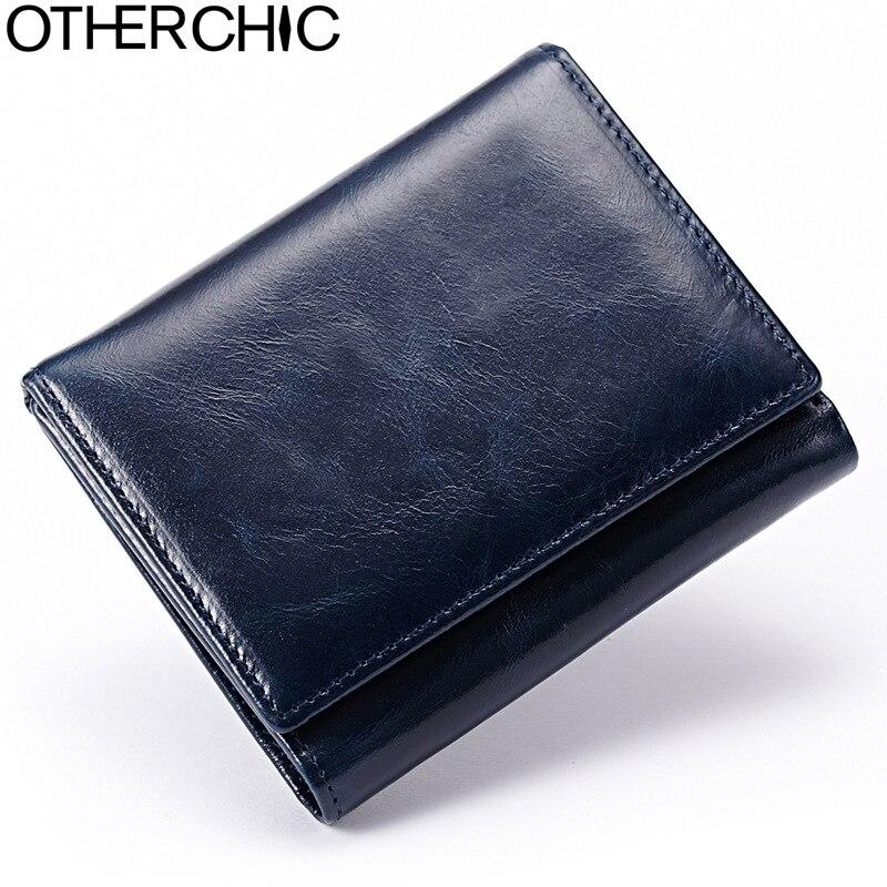 Vintage Small Men Wallet Zipper Real Leather Women Short Wallets Coin Pocket Credit Card Wallet Female Purses Money Clip 5N12-11<br><br>Aliexpress