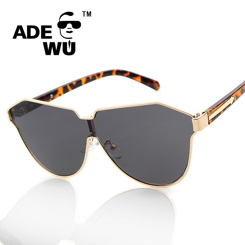 Adewu Fashion Oversized Sunglasses Women Brand Designer Gold Rim Shield Womens Sunglasses Lady Arrow Sun Glasses For Woman Eye<br><br>Aliexpress