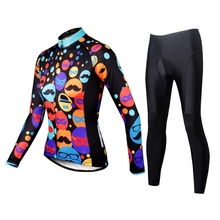 Buy ILPALADINO Bike jersey pants Sets Long Women Pro Cycling clothing Suits Ropa Ciclismo carnival Girls MTB Wear Long Sleeve Winter for $40.04 in AliExpress store