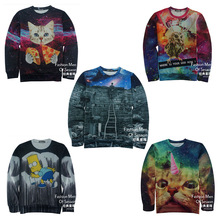 High-quality baseball clothing sweater boy 3D three-dimensional printing tide brand youth printing hip-hop jersey 12-18 years