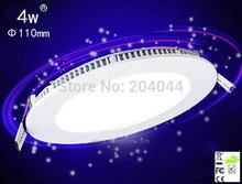 2015 New Downlight Free:8pcs/lot Led Panel Light 4w110mm, Epistar Chip,300lm, Ce-/rohs-certified, Ac 85-265v Light Manufacturer(China)