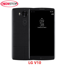 Original Unlocked LG V10 H900 H901 4G LTE Android Mobile Phone Hexa Core 5.7'' 16.0MP 4GB RAM 64GB ROM 2560*1440 Smartphone(China)