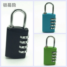 4 Dial Digit Combination Luggage Suitcase Metal Code Password Padlock Lock New YYY9143