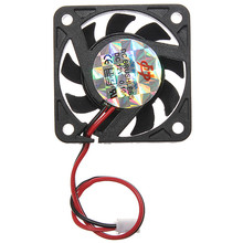 2017 New Arrival Mini Brushless PC Computer Case Cooling Fan 12V Low Noise For CPU Radiating For Desktop PC Factory Price