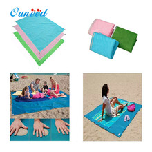 OUNEED Beach Mat Sandproof Waterproof Towel Blanket Sand Camping Mats u70518 DROP SHIP