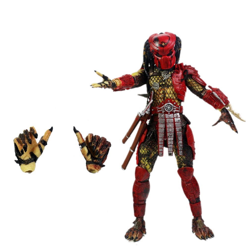 Predator Series 7 Big Red 7 Scale Action Figure Free Shipping<br>