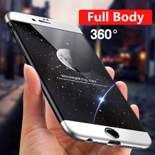 Hard Luxury 360 Degree Protection Cases For Apple iphone 7 case 7 Plus 6S 6 Plus Ultra thin  iPhone 6 Case 5 5S Case SE Cover