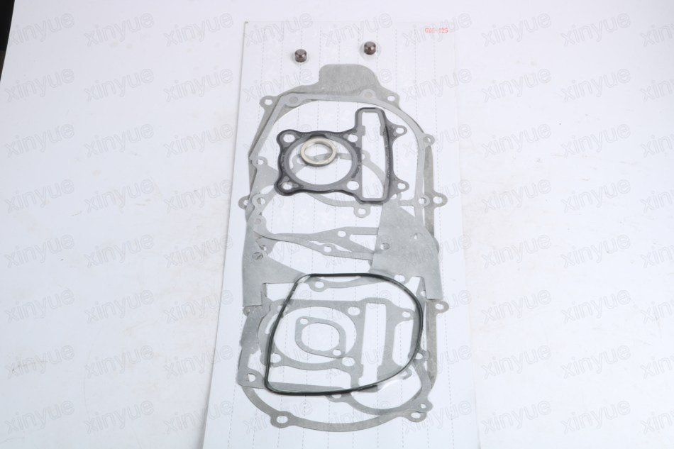 Scooter Gasket Set GY6 152QMI 125cc Chinese Scooter Parts Complete Gasket Set 52.4mm