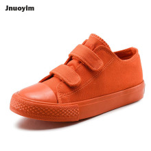 6 Color Solid Children Sneakers Simple Design Low Cut Kids Shoes Autumn Spring Canvas Shoes Unisex Boys Girls Flats(China)
