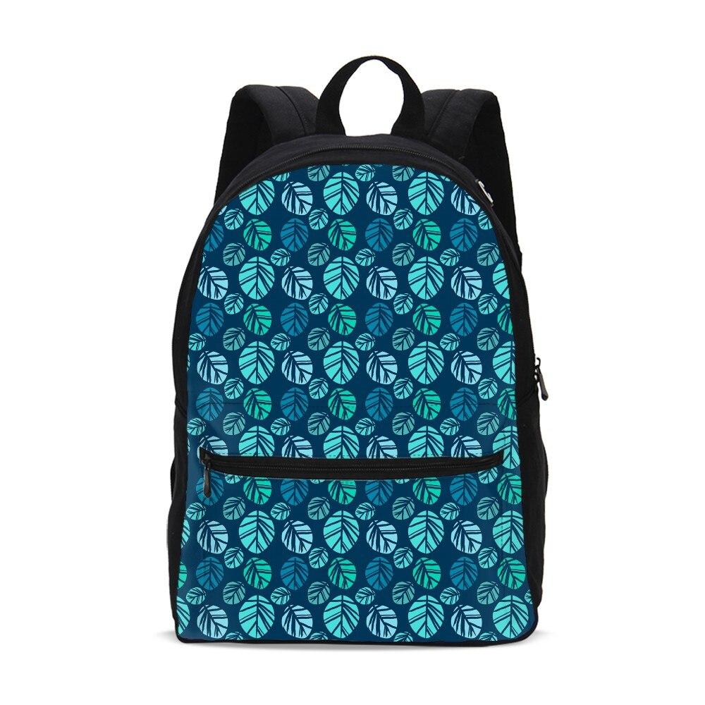 VEEVANV Brown Plant Leaves Anime French Bulldog Canvas Backpacks Christmas Gift FOR Kids Girls School Bag Guilty Dog Bagpack