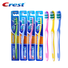 Crest 5pc Double Ultra Soft Nano Cheap Toothbrush Deep Clean Personal Care Brush Teeth Travel Eco Slim Toothbrush Manufacturer