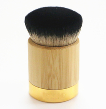 Hot Sale makeup brushes airbuki bamboo powder foundation brush #tr01 contour make up flat kabuki kit pinceis maquiagem