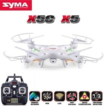 Toys SYMA X5C 2.4G 4CH 6-Axis RC Helicopters With 2MP HD Camera Quadrocopter Drone OR SYMA X5 NO Camera(China)