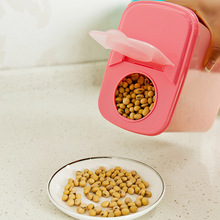 Clamshell food grains storage box large capacity leak-proof seal crisper sealed storage box