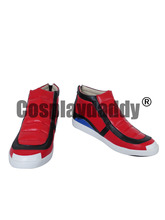 Pokemon Ash Ketchum Daily Red Cosplay Shoes Boots X002