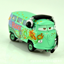 In Stock Pixar Cars 2 Diecast Fillmore Metal Alloy Model Cute Toys Scale Children Car Christmas Gift 1:48