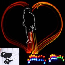 Flashing Gloves Glow 7 Mode LED Rave Light Finger Lighting Mitt Hallowmas Party Decoration drop shipping