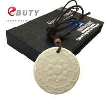 Fashion Quantum Energy Pendant Scalar With Lava Negative Ions Best Price for 10pcs(China)