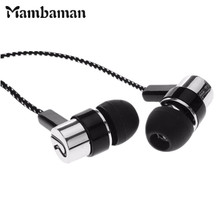 High Quality 3.5mm in-ear earphones bass LR sport earphone headset stereo for Iphone 6 6s 7 ipad mini mp4 samsung xiaomi huawei