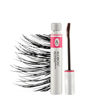 Eyelashes Lengthening Extension Colossal Volume Mascara Black Ink Alobon 3d Fiber Quick Dry Lashes Makeup Curling Natural(China)